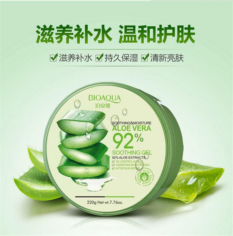 Gel dưỡng đa năng Nature Republic Soothing & Moisture Aloe Vera 92%