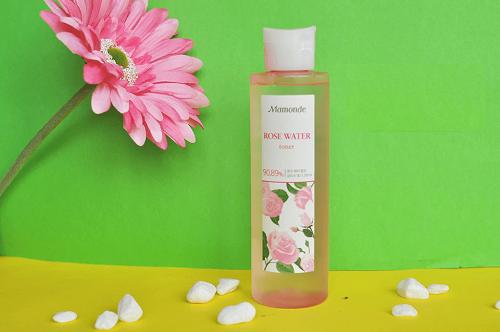 Nước hoa hồng Mamonde Rose Water Toner 250ml cho bạn làn da mềm mịn, ẩm mượt suốt ngày dài