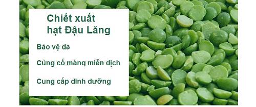 Chiết xuất đậu lăng có trong nước hoa hồng some by mi giúp dưỡng da khỏe mạnh