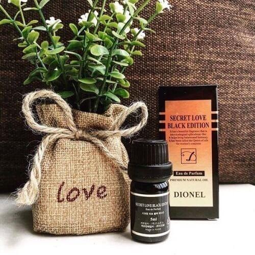 Nước hoa vùng kín Dionel – Black Edition cho bạn thêm quyến rũ, tự tin