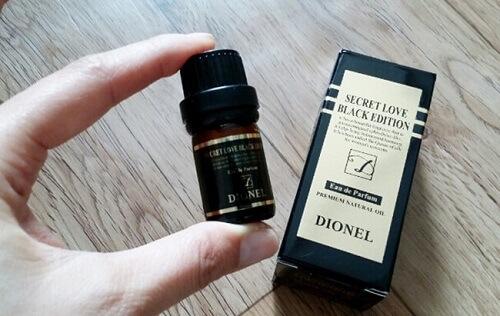 Nước hoa vùng kín Dionel – Black Edition nhỏ gọn, tiện dụng và dễ sử dụng