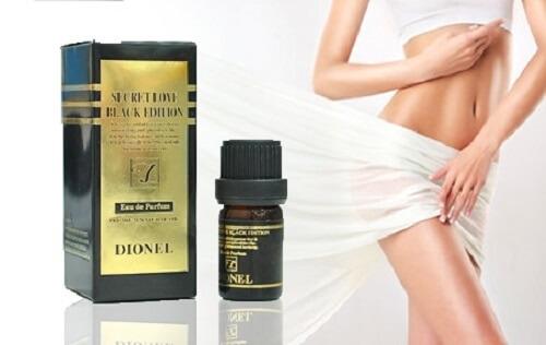 Cho vùng da sạch sâu, loại bỏ mùi khó chịu nhờ nước hoa vùng kín Dionel Black Edition
