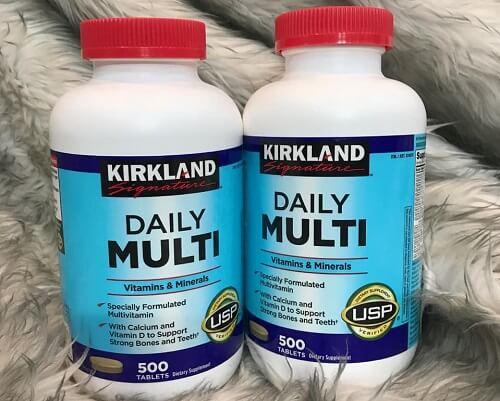 Vitamin tổng hợp Daily Multi Kirkland - dòng thực phẩm chức năng được hàng triệu người lựa chọn và tin dùng