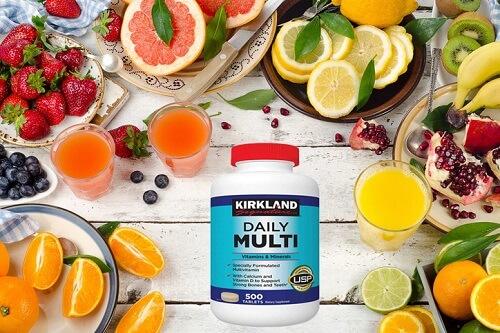 Vitamin tổng hợp Daily Multi Kirkland sở hữu nhiều dưỡng chất, ưu điểm mà không dòng nào có thể thay thế được