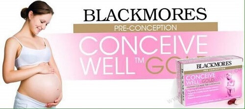 Viên uống Blackmores Conceive Well Gold - sự lựa chọn hoàn hảo của chị em phụ nữ