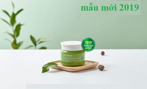 Kem dưỡng da innisfree green tea balancing cream dành riêng cho da hỗn hợp